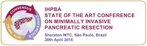 "IHPBA ""State of the Art"" Minimally Invasive Pancreatic Resection @ São Paulo 